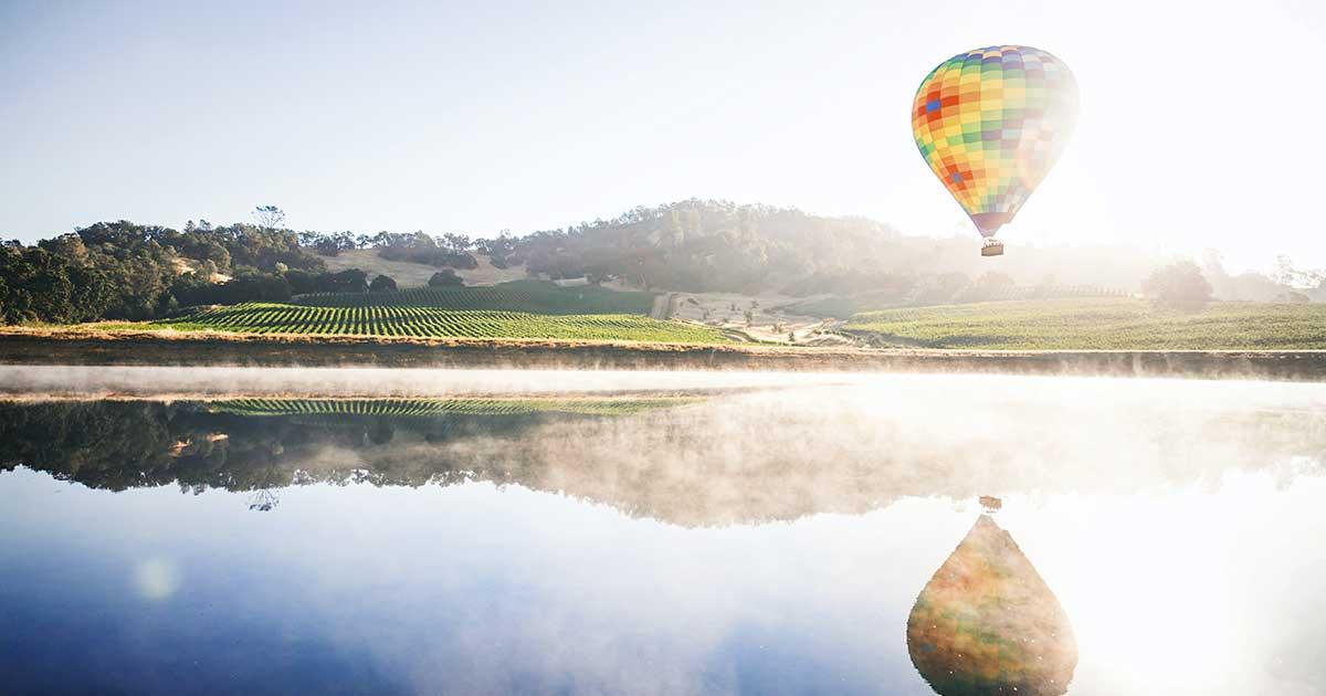 Skrydis oro balionu garantuos neįkainojamas akimirkas
