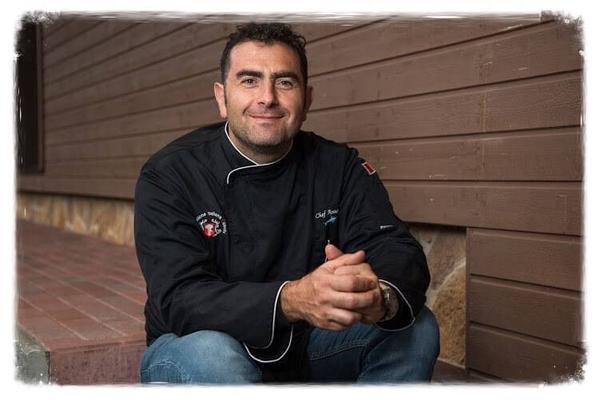 Virtuvės šefas Antonio iš Italijos