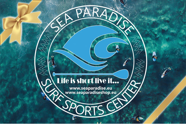 Sea paradise surf sports center dovanų čekis